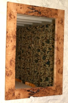 Burr Oak Mirrors