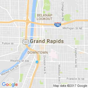 Dumpster Rental Grand Rapids Map