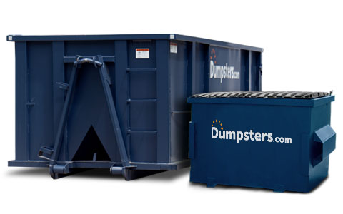 compare dumpster sizes and