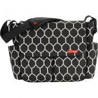 Skip Hop Dash Messenger Diaper Bag, Onyx Tile | Skip Hop ...
