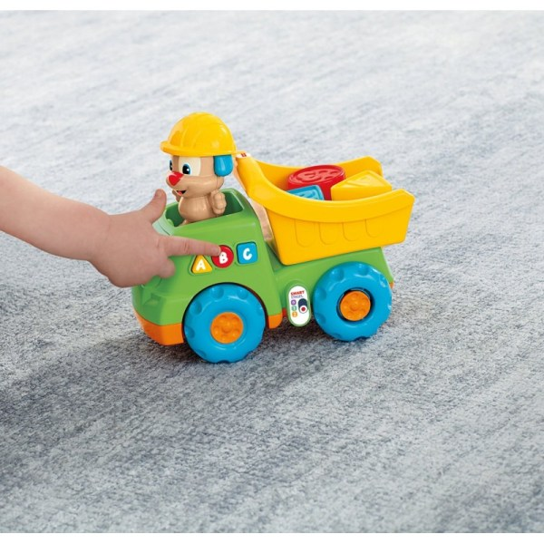 Laugh & Learn Puppy' Dump Truckfisher