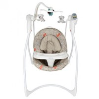 Graco Lovin Hug Swing W/Plug-Wood Land Walk | Graco | Gear ...