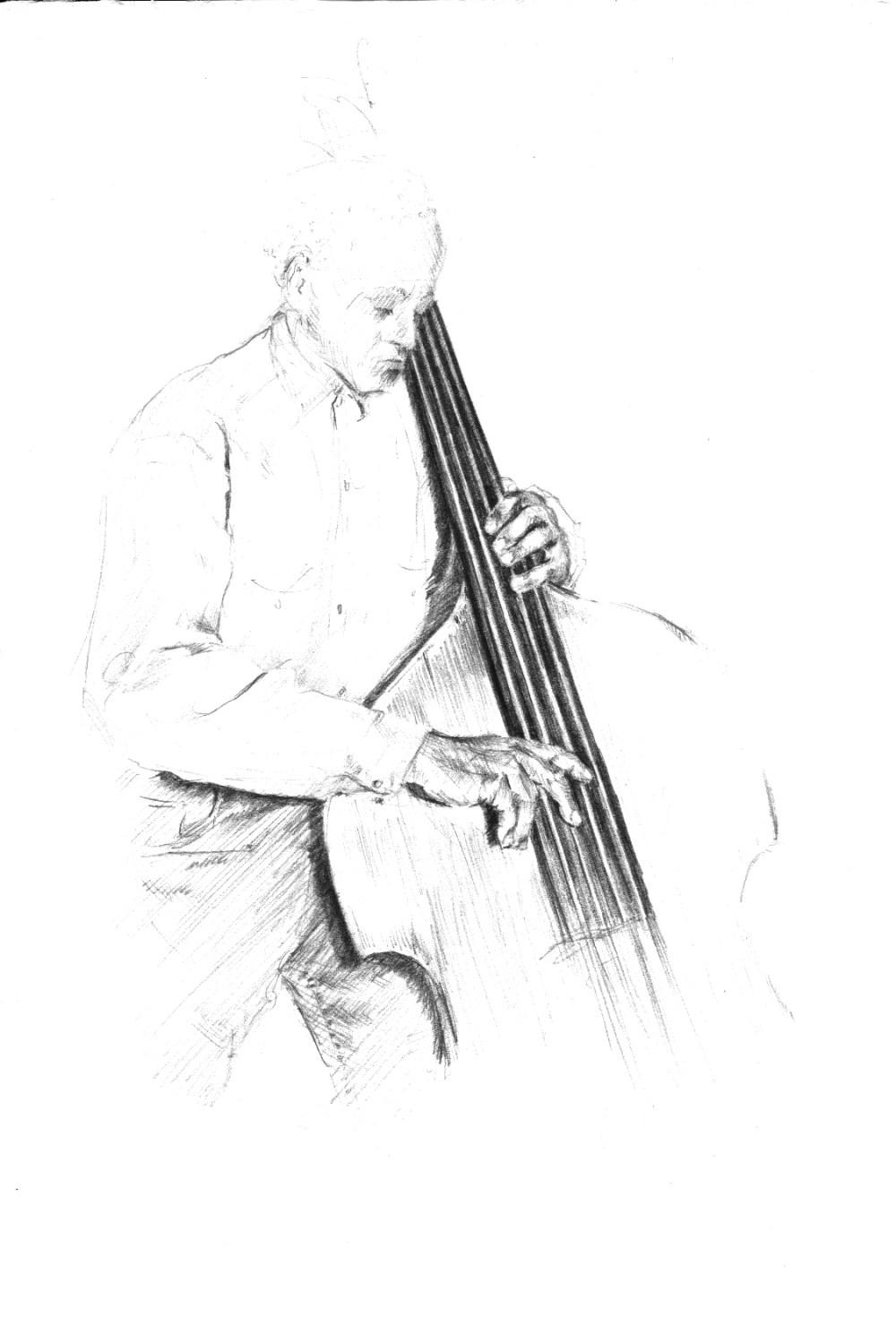 Cecil McBee illustrations