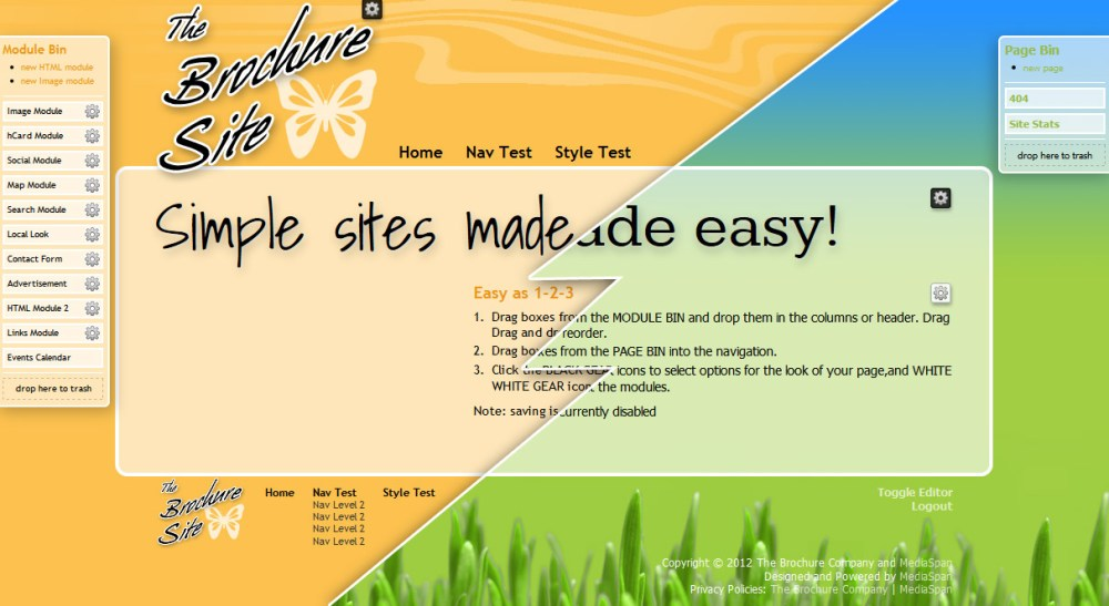 The Brochure Site