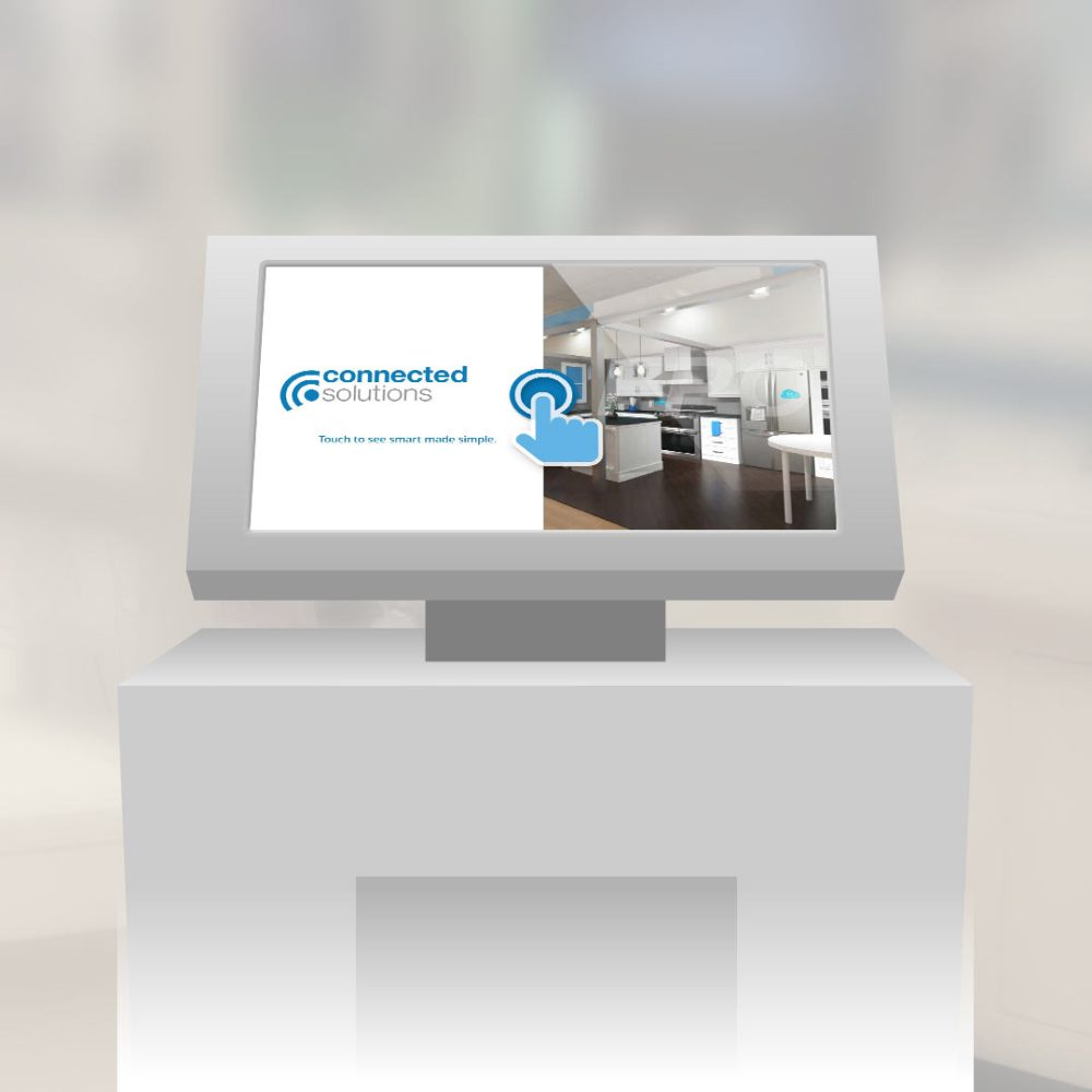 Connected Solutions kiosk