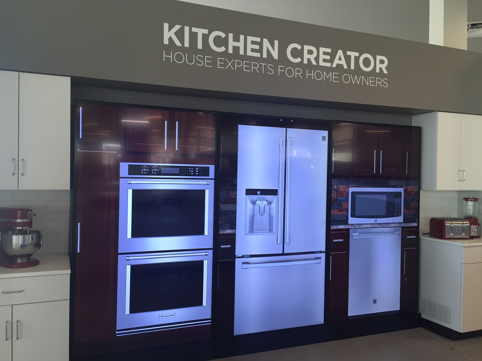 Marvelous I Skinned All The Kitchen And Appliance Elements And Worked With UXA And  Development To Implement This Life Sized Digital Display For The Sears  Appliance ...