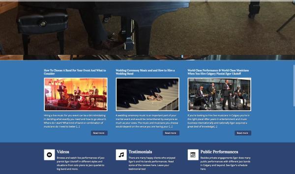 Jazz Pianist Calgary Egor Ukoloff 403-619-3004