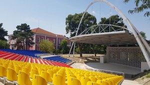 Обновеният Летен театър в Русе е готов.