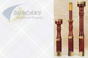 MacLellan Bagpipes antique
