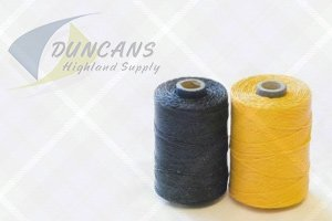 yellow waxed hemp