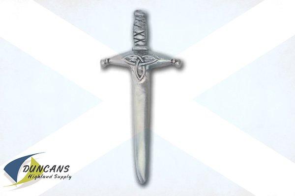 Trinity Sword Kilt Pin