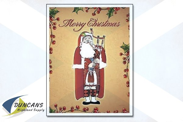 Piper Santa Note Cards