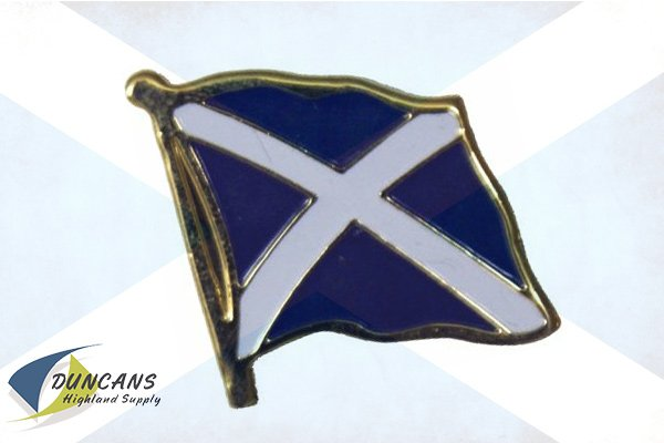 St Andrews cross pin