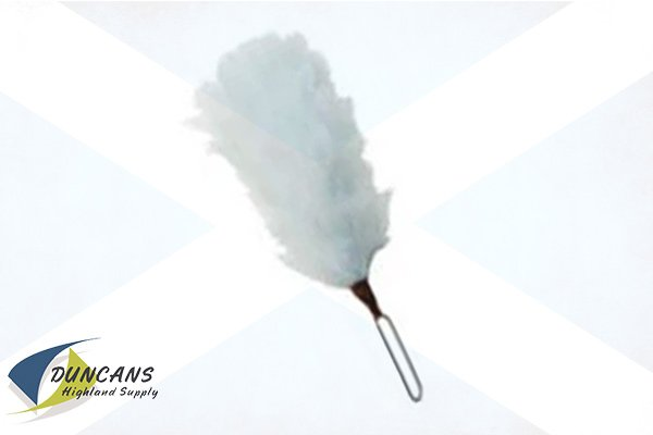 4 Inch White Hackle