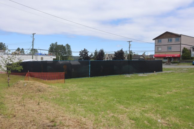 Tent Site on Buller Street in Ladysmith, 19 May 2020. (photo: Duncan Taxpayers)