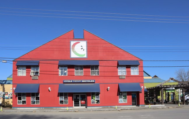 Cowichan Green Community building, 360 Duncan Street in downtown Duncan. Formerly the Phoenix Hotel (photo: Duncan Taxpayers)