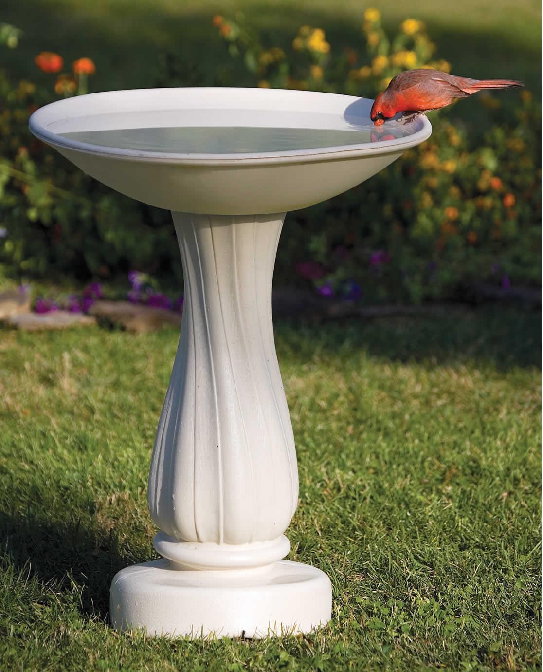 Duncraftcom AllSeasons Heated Bird Bath