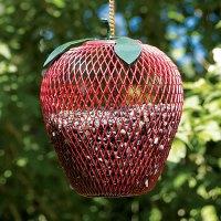 Duncraft.com: Apple Wire Mesh Bird Feeder