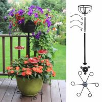Duncraft.com: Container Hummingbird Pole with Basket and Hooks