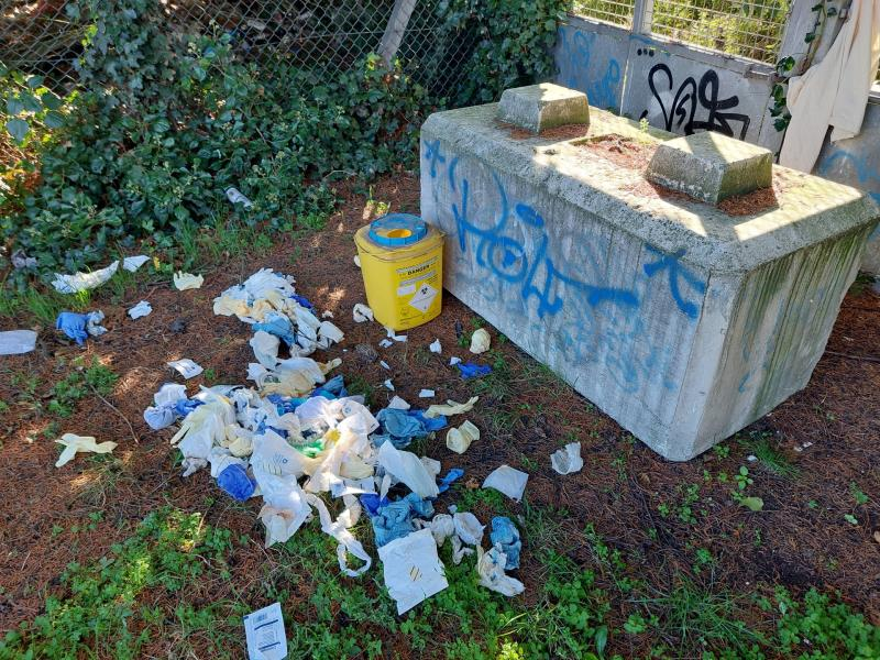 'Contaminated sharps' and other medical waste found dumped in Dundalk