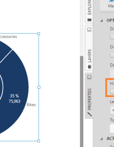 Pie chart showing  grand total also show or hide values on how to data visualizations rh dundas