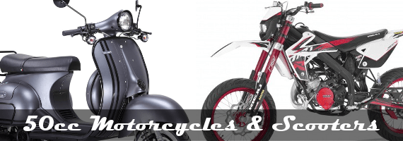 50cc Motorcycles Scooters