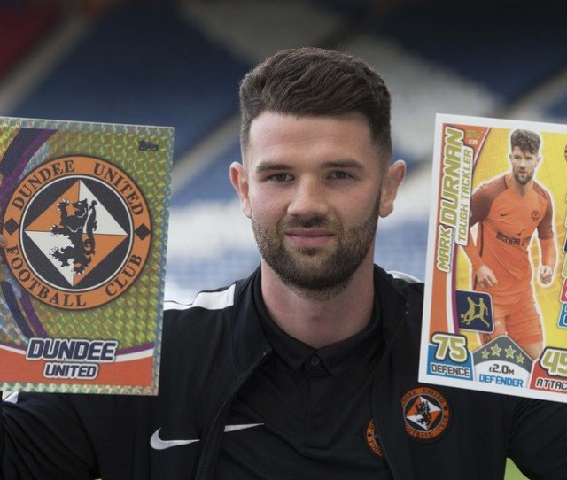 Topps Launches All New Spfl Match Attax Collection Dundee United Football Club