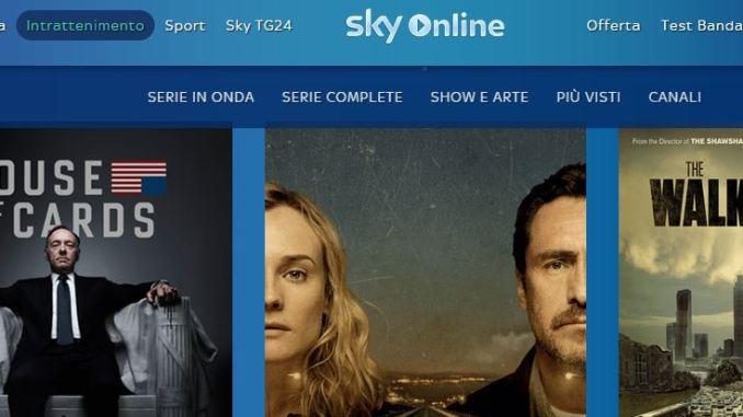 Sky online xbox