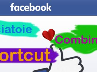 Scorciatoie e combinazioni shortcut su facebook