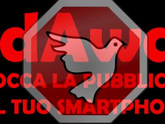 Adaway pubblicità smartphone