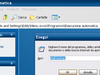 Esecuzione automatica windows xp 7 8 seven