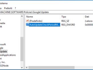Come bloccare gli aggiornamenti automatici in google chrome