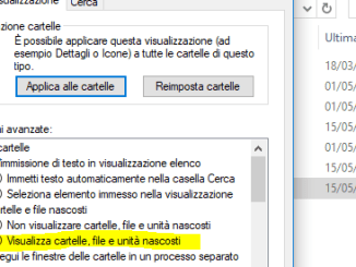 Pulizia windows 10