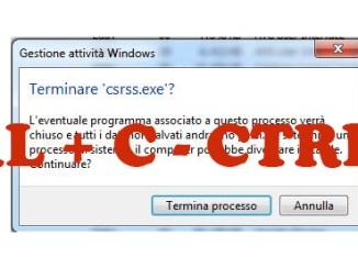 Come copiare il testo dei messaggi di errore di windows