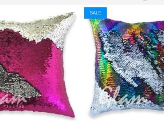 Glam pillows dove acquistare i cuscini che cambiano colore