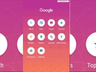 Google search lite per android