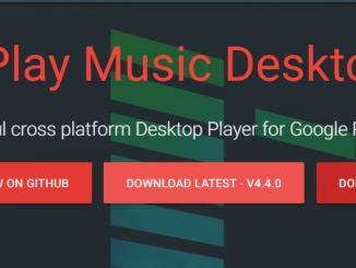 Scarica google play music desktop player per windows 10 8 7