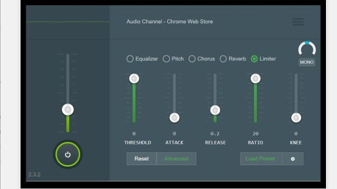 Audio channel miglior equalizzatore audio per chrome
