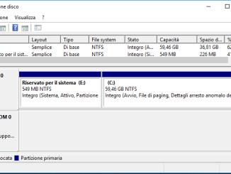 Come aprire gestione disco in windows 10 e 8