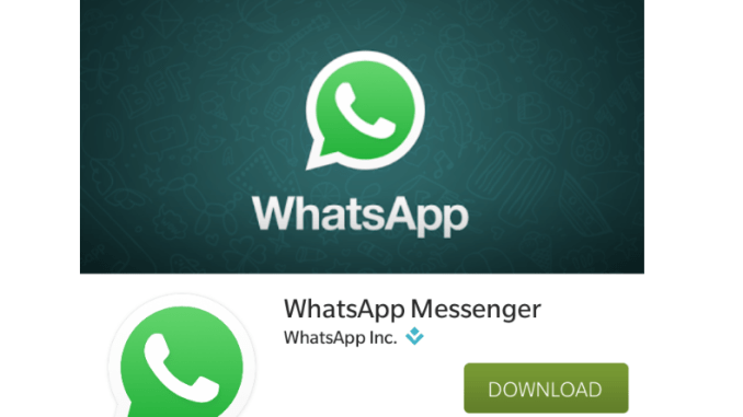 download whatsapp application for blackberry