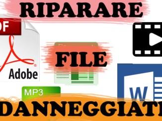 Come riparare qualsiasi file danneggiato in windows