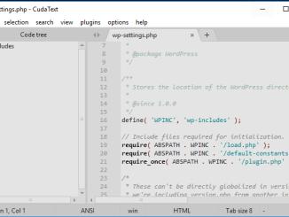 Cudatext editor del codice gratuito per programmatori