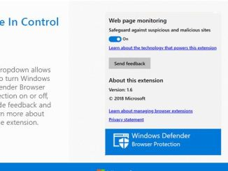 Windows defender estensione per chrome