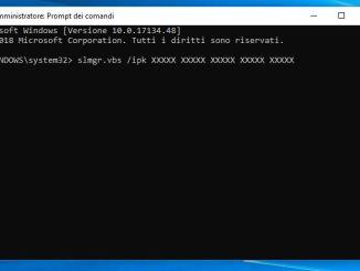 Come trasferire la licenza di windows 10 in un altro computer