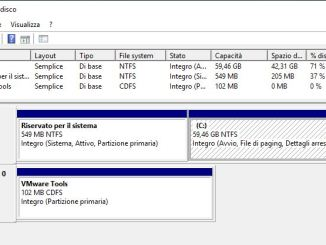 Windows gestione disco non si apre