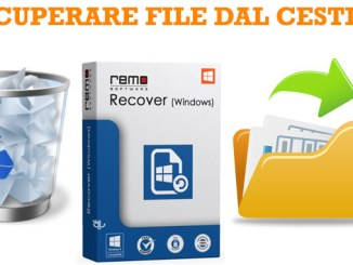 Recuperare file cancellati dal cestino in windows 10