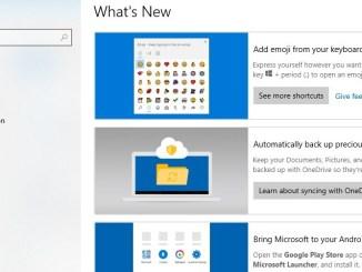 Come attivare whats new per vedere tutti gli aggiornamenti
