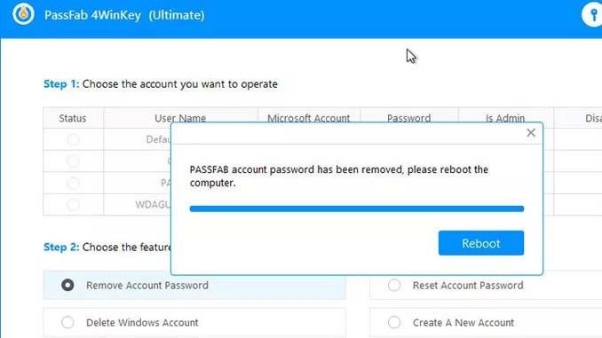 Recuperare password amministratore windows 10