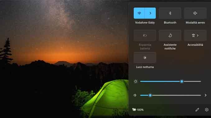 Come personalizzare le impostazioni rapide in windows 11