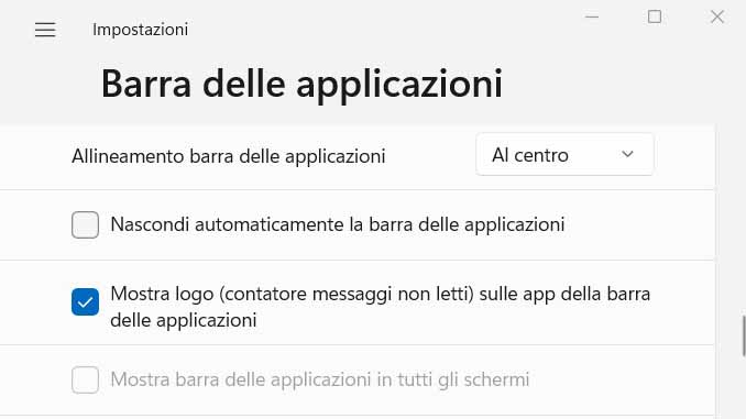 Windows 11 come nascondere automaticamente la barra delle applicazioni